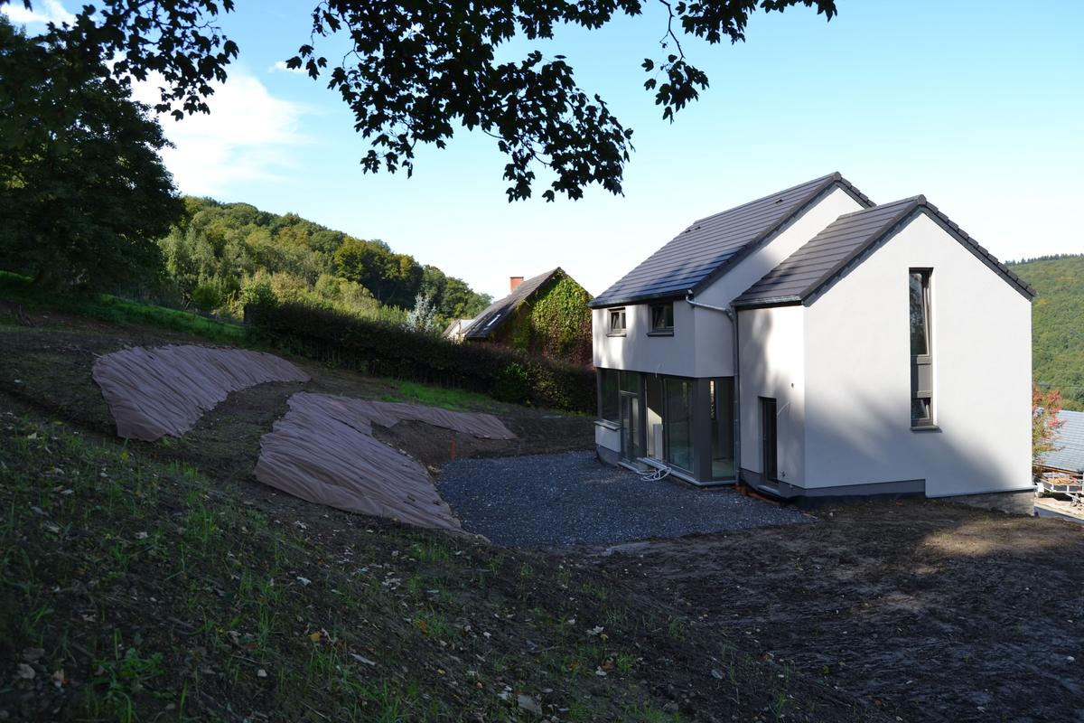 Constructeur maison basse energie belgique conception de for Construire maison minimaliste
