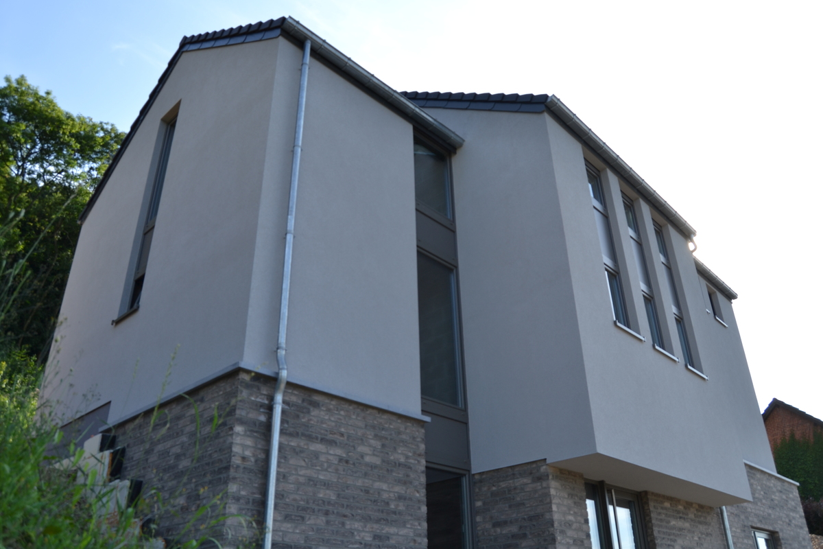 Construction d 39 une maison basse energie - Gros oeuvre d une maison ...