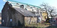 Rénovation d'une vieille ferme en deux logements en région de Huy