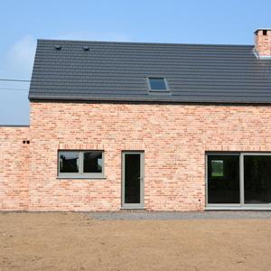 Maison en brique belle époque de Mons
