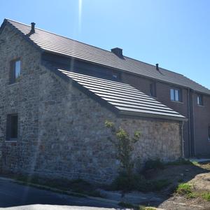 rénovation de façade en pierre par sablage et jointoyage