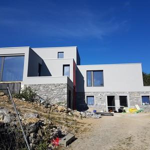 Rénovation et extension d'une fermette à Biesme